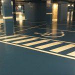 Aplicas Pintura d'aparcaments, parking, garaje